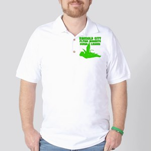 emerald city monkeys Golf Shirt