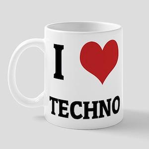 I Love Techno Mug