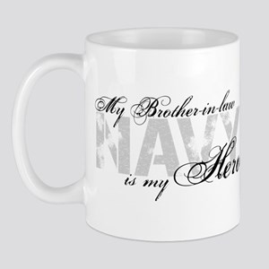 Brother-in-law is my Hero NAVY Mug