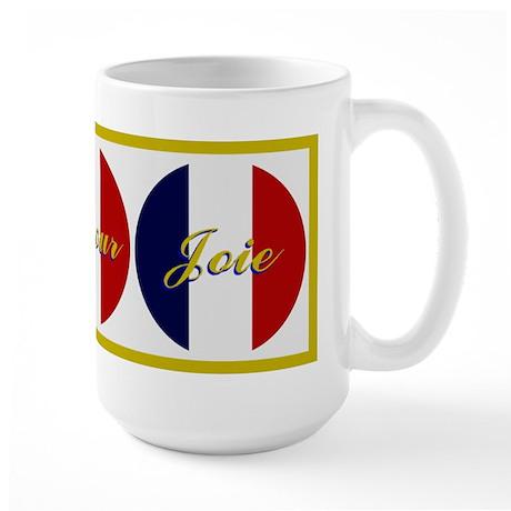 French 3 Wishes Large Mug