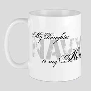 Daughter is my Hero NAVY Mug