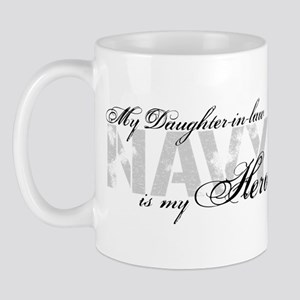 Daughter-in-law is my Hero NAVY Mug