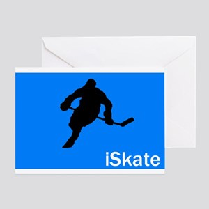 iSkate Greeting Card