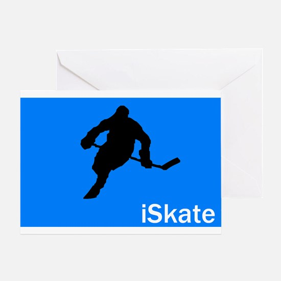 iSkate Greeting Card