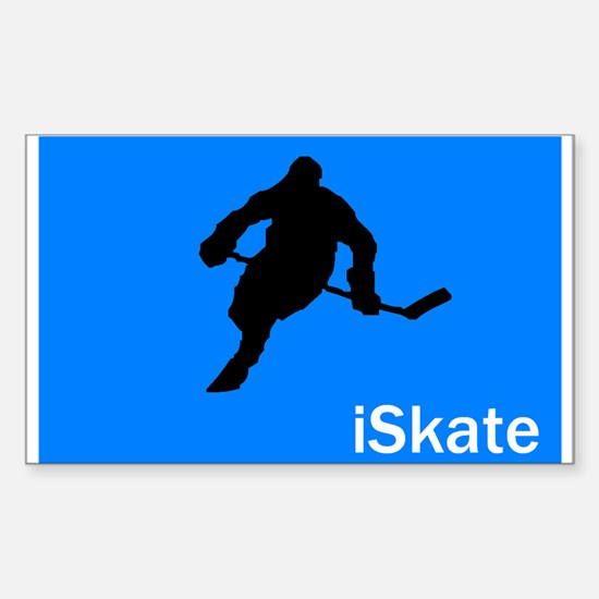 iSkate Rectangle Decal