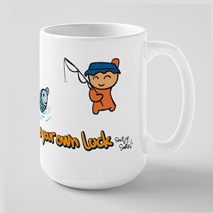 Make Your Own Luck Large Mug