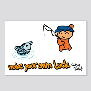 Make Your Own Luck Postcards (Package of 8)