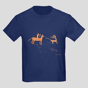 Petroglyph Hunter Kids Dark T-Shirt