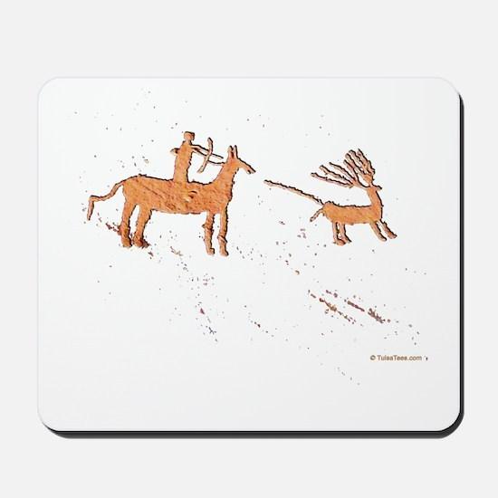 Petroglyph Hunter Mousepad