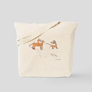 Petroglyph Hunter Tote Bag