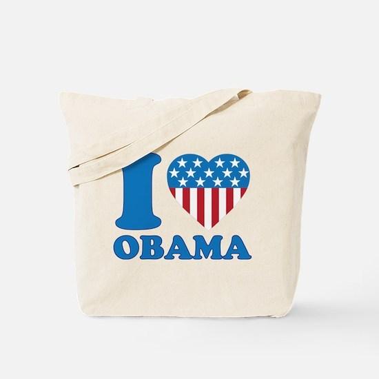 i Love Obama Classic I Heart Tote Bag