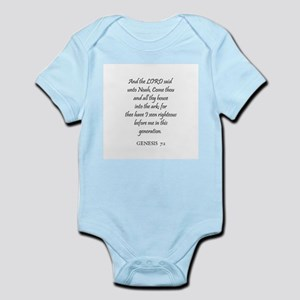 GENESIS  7:1 Infant Creeper