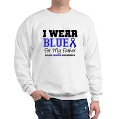 I Wear Blue Father Sweatshirt