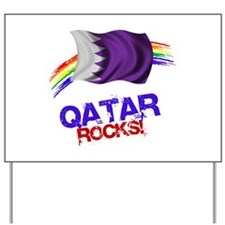 Qatar Rocks | Yard Sign