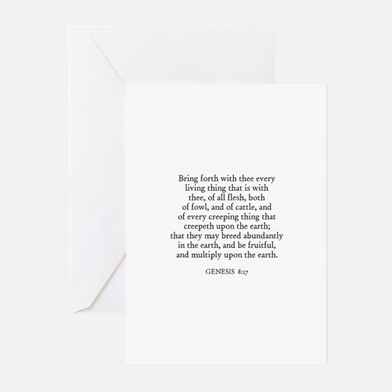 GENESIS  8:17 Greeting Cards (Pk of 10)