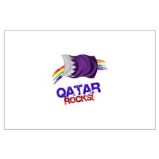 Qatar Rocks | Large Poster