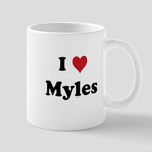 I love Myles Mug