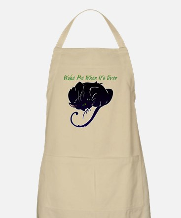 Wake Me When It's Over BBQ Apron