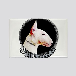 Bull Terrier Rectangle Magnet (100 pack)