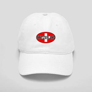Swiss Oval Flag Cap