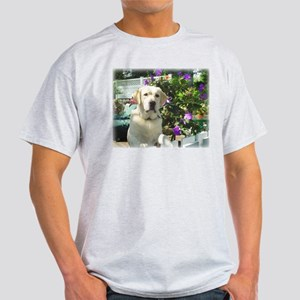 Bogart's Yellow Lab Ash Grey T-Shirt