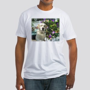 Bogart's Yellow Lab Fitted T-Shirt