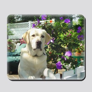 Bogart's Yellow Lab Mousepad