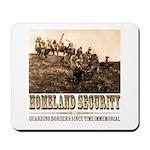 Homeland Security-Guarding Bo Mousepad