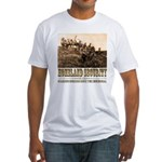 Homeland Security-Guarding Bo Fitted T-Shirt