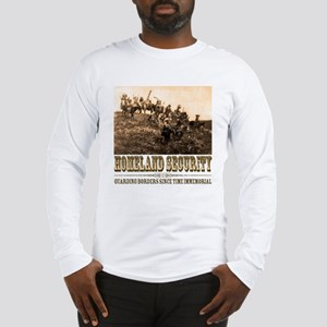 Homeland Security-Guarding Bo Long Sleeve T-Shirt