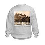 Homeland Security-Guarding Bo Kids Sweatshirt