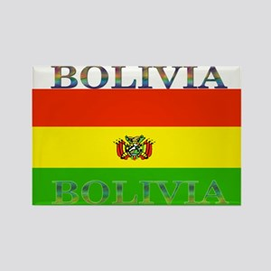 Bolivia Bolivian Flag Rectangle Magnet