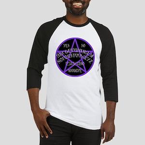 Purple Pentagram Board Baseball Jersey