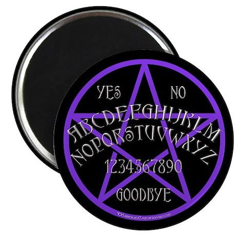 Purple Pentagram Board Magnet