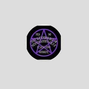 Purple Pentagram Board Mini Button