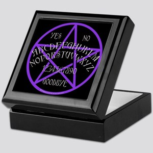 Purple Pentagram Board Keepsake Box