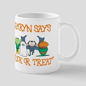 Camryn Says Trick or Treat Mug
