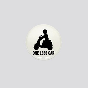 One less car motor scooter Mini Button