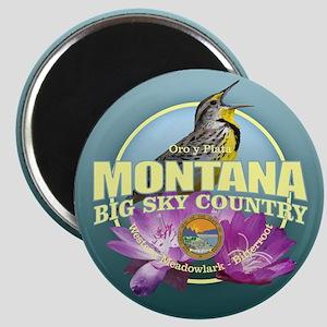 Montana State Bird & Flower Magnets