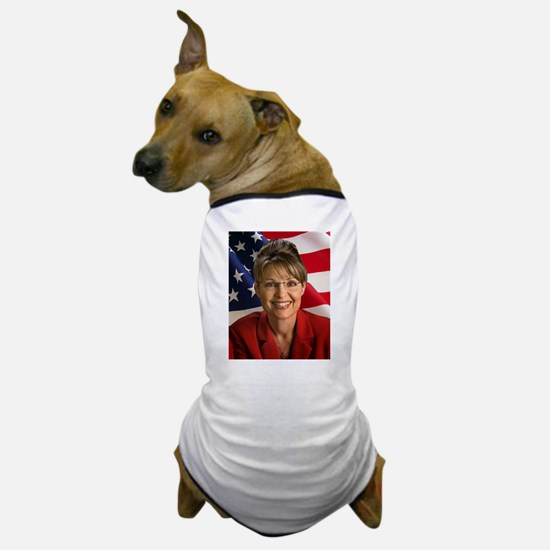 Cool Palin lipstick hockey mom Dog T-Shirt