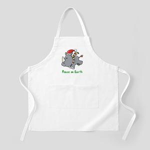 Peace Rhino BBQ Apron