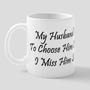 Husband Or Beads Mug