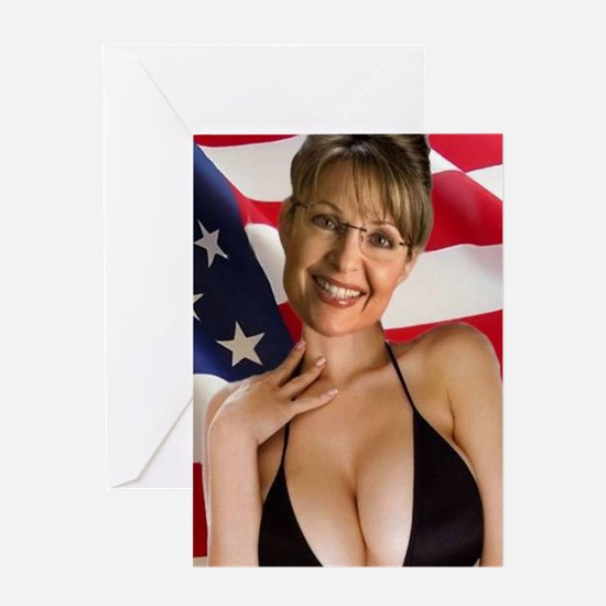 Cute Sarah palin Greeting Card
