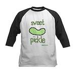 sweet pickle Kids Baseball Jersey