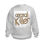 cereal killer Kids Sweatshirt