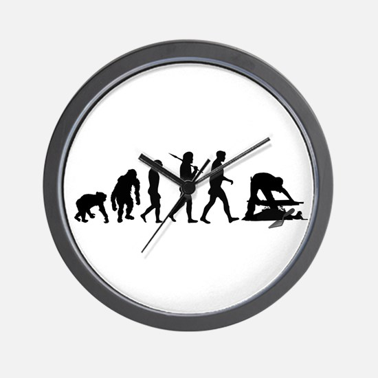 Archaeologist Wall Clock