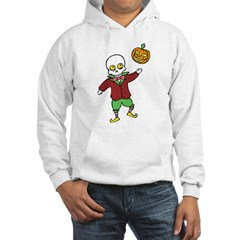 Skeleton and Pumpkin Hoodie