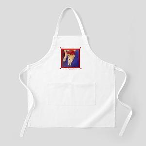 I Love My Greyhound I BBQ Apron