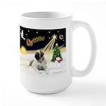Night Flight/Bull Mastiff Large Mug