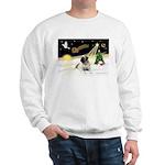 Night Flight/Bull Mastiff Sweatshirt